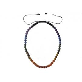 Čakrový shamballa náhrdelník 45-75cm
