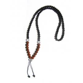 Červený Jaspis Mala Joga náhrdelník