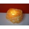 Svietnik z oranžového kalcitu veľký